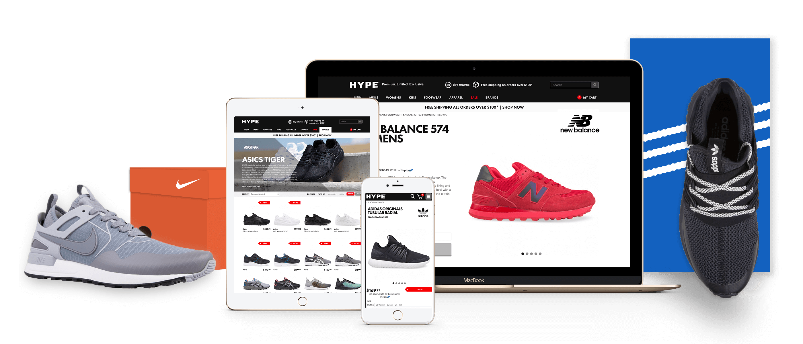 Hype DC eCommerce Website